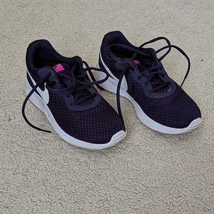 Nike women's sneakers, deep purple, size 7.5